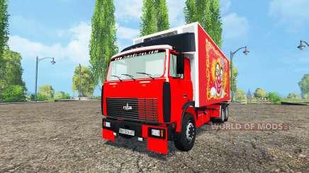 MAZ-551608 para Farming Simulator 2015