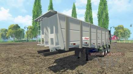 Basculante semi-reboque Fliegl para Farming Simulator 2015