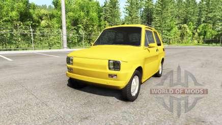 Fiat 126p v2.0 para BeamNG Drive