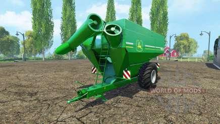HORSCH Titan 34 UW John Deere para Farming Simulator 2015