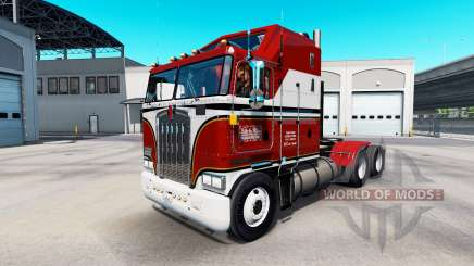 Pele de Billie Joe no trator Kenworth K100 para American Truck Simulator