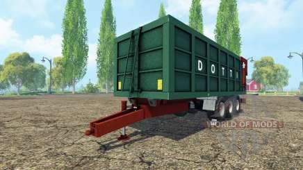 DOTTI Rimorchi MD 200-1 para Farming Simulator 2015