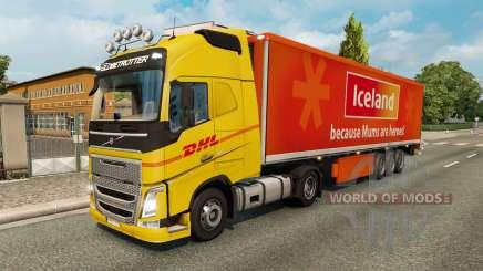 Skins para tráfego de caminhões v2.2 para Euro Truck Simulator 2