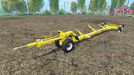 O trailer para colheitadeira New Holland para Farming Simulator 2015