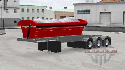 Basculante semi-reboque Midland TW3500 para American Truck Simulator