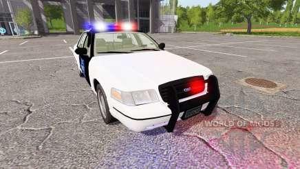 Ford Crown Victoria Police para Farming Simulator 2017