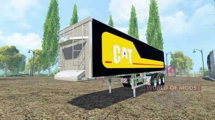 Kroger Agroliner SRB3-35 Caterpillar chrome para Farming Simulator 2015