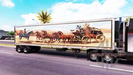 Pele Bandido no trailer para American Truck Simulator