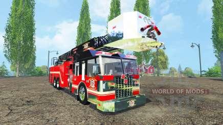 Caminhão de bombeiros para Farming Simulator 2015