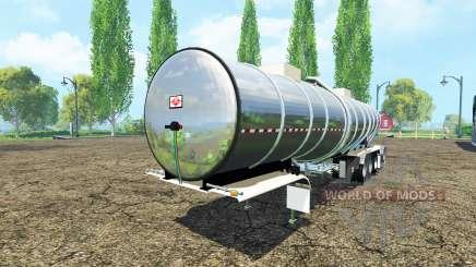Semi-reboque tanque para Farming Simulator 2015