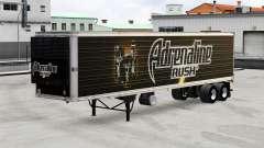 Peles de bebidas no trailer