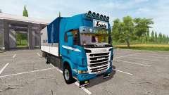 Scania R730 tandem v1.1 para Farming Simulator 2017