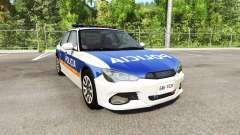 Hirochi Sunburst Buenos Aires Police para BeamNG Drive