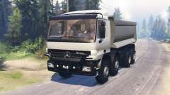 Mercedes-Benz Actros (MP2) 8x8 v0.9 para Spin Tires