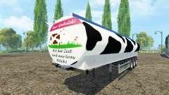 Molokovozy semi-reboque Fliegl v0.9 para Farming Simulator 2015