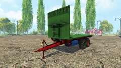 Eigenbau Ballenwagen para Farming Simulator 2015