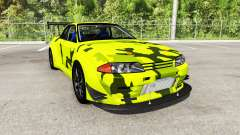Nissan Skyline GT-R (R32) Rocket Bunny para BeamNG Drive