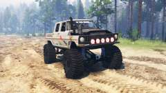 Ford F-250 Crew Cab para Spin Tires