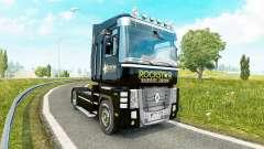Rockstar Energia para a pele do Renault Magnum unidade de tracionamento para Euro Truck Simulator 2