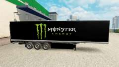 Pele Monster Energy para semi