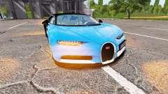Bugatti Chiron para Farming Simulator 2017