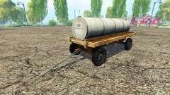 Carreta com tanque de v1.1 para Farming Simulator 2015