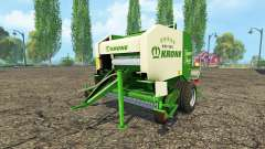 Krone VarioPack 1500 para Farming Simulator 2015