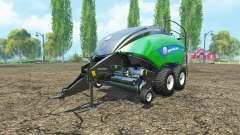 New Holland BigBaler 1290 gras bale v2.0 para Farming Simulator 2015