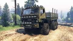 KamAZ 4310 Fantasma v1.1 para Spin Tires