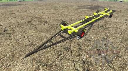 Trailer para CLAAS harvester para Farming Simulator 2015