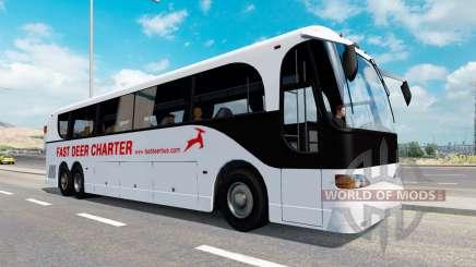 Uma coleção de ônibus em tráfego de v1.1 para American Truck Simulator