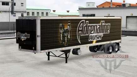 Peles de bebidas no trailer para American Truck Simulator