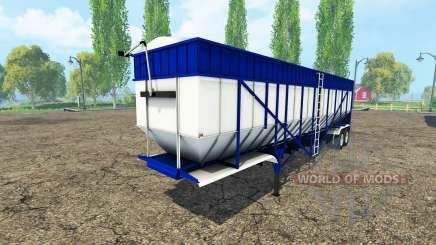 Tipper semi-trailer v3.0 para Farming Simulator 2015