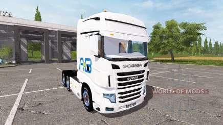 Scania R700 Evo AB Texel para Farming Simulator 2017