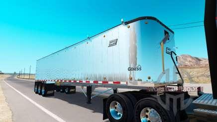 Basculante semi-reboque para American Truck Simulator