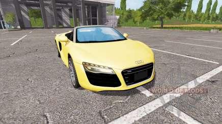 Audi R8 V10 Spyder v1.2 para Farming Simulator 2017