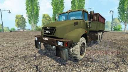 O KrAZ B18.1 v1.1 para Farming Simulator 2015