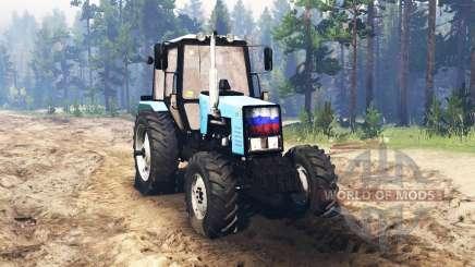 MTZ Bielorrússia 1221.2 para Spin Tires