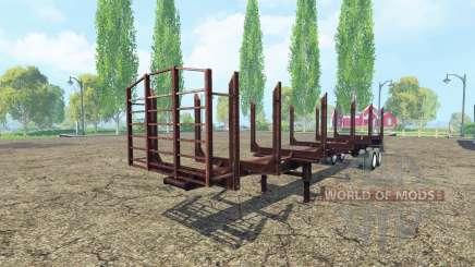 O registo de semi-reboque para Farming Simulator 2015