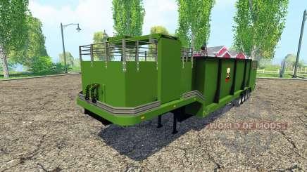 Separarately semi-reboque v1.1 para Farming Simulator 2015