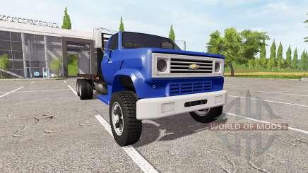Chevrolet C70 flatbed para Farming Simulator 2017