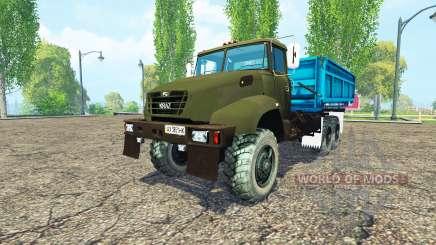O KrAZ B18.1 agrícola apelido para Farming Simulator 2015