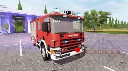Scania 94D 260 Feuerwehr para Farming Simulator 2017