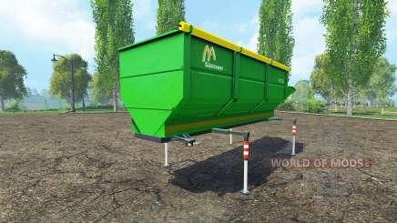 Gustrower GTU 25 para Farming Simulator 2015
