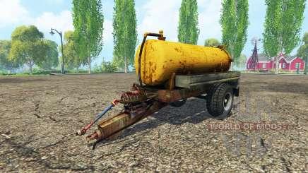 Tank manure para Farming Simulator 2015