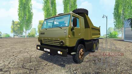 KamAZ 54102 para Farming Simulator 2015
