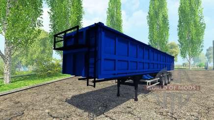 Tonar tipper semi-trailer para Farming Simulator 2015