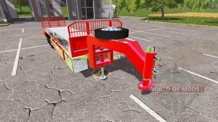 Semi-trailer platform para Farming Simulator 2017