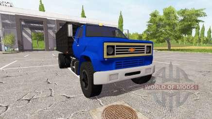 Chevrolet C70 dump para Farming Simulator 2017