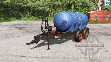 Carreta com tanque para BeamNG Drive